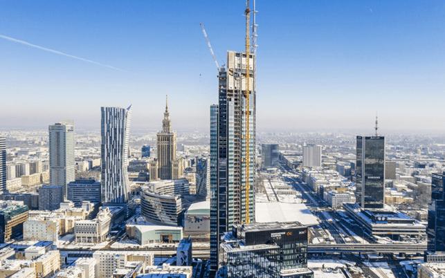 højeste bygning i EU