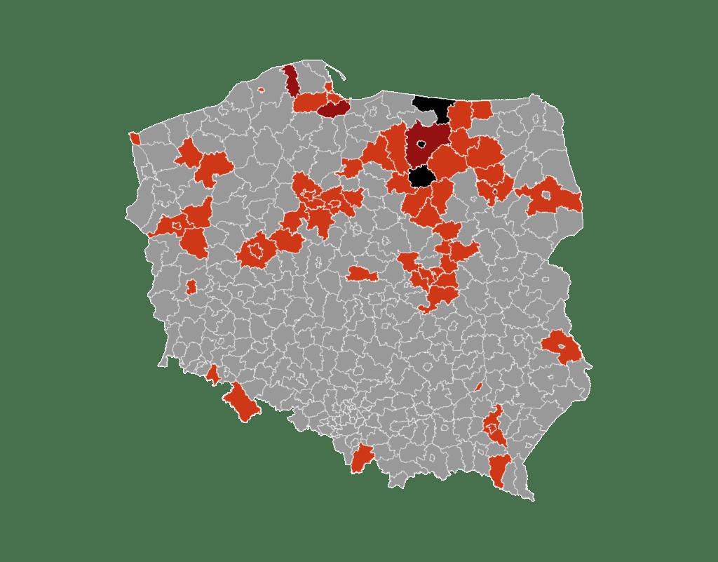 Smittespredning Polen
