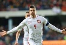 England Polen uden Lewandowski
