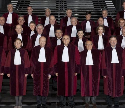 EU-domstolens dommere