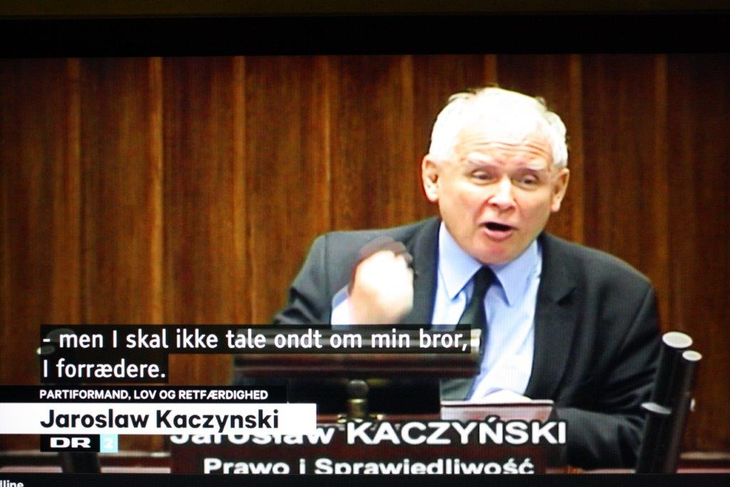 Kaczynski LGBT-ideologien