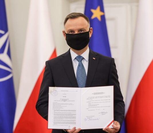 Polens præsident og EU