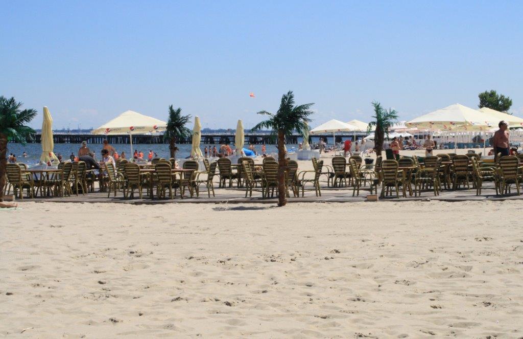 Tropenætter ved strandene i Polen