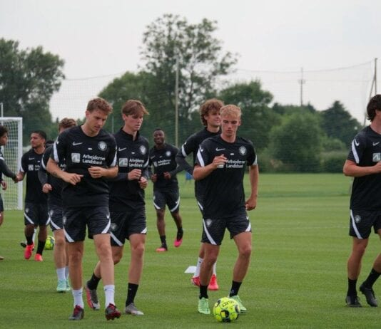 danske fodbolddrenge i Polen
