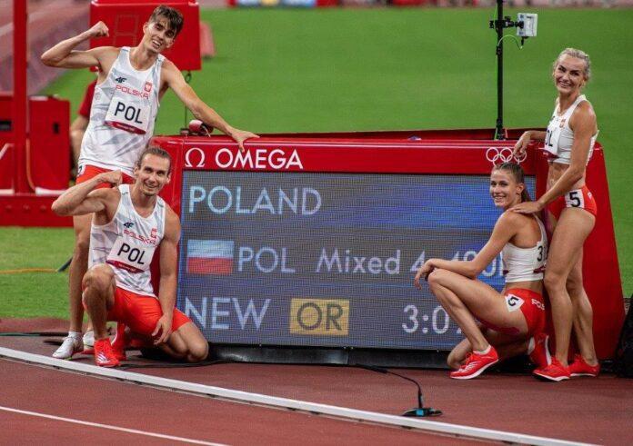 Polen, OL-guld og corona