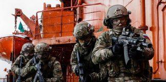 russiske tropper