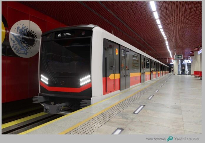 Pollakker i metro i Warszawa