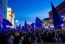 Protest for EU