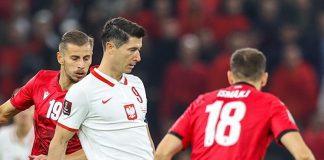 Albanien Polen fodbold